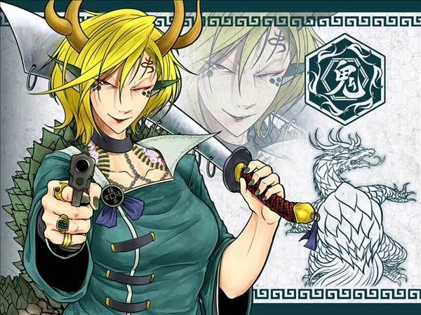 Touhou arrange Dragon Yakuza's Ambition Wily Beast and Weakest Creature